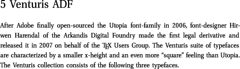 Top 10 LaTeX Fonts